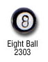 sports beads - eightball sports bead