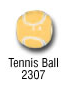 sports beads - tennis ball sports bead