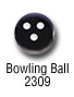 sports beads - bowling ball sports bead
