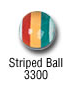 sports beads - striped ball