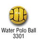 sports beads - waterpolo ball